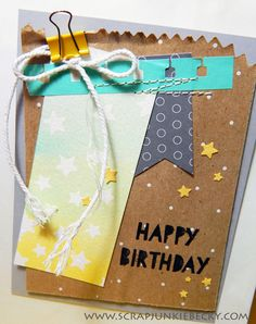 I am love using the Tag a Bag Gift Bags and Accessory Kit in alternative ways! ~Becky Cowley