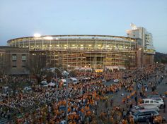 The University of Tennessee Gameday! I'm going to miss this place... GO VOLS!