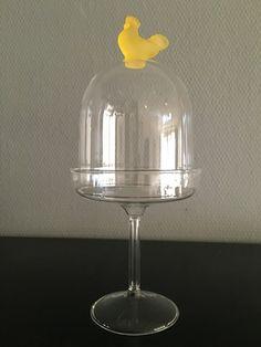 Villeroy & Boch pasen Glass op voet met stolp
