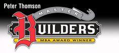 Peter Thomson Master Builders Logo