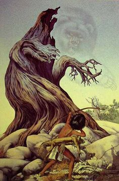 """Ghost Of The Grizzly Tree"" by Bev Doolittle"