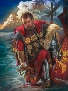 The Roman Centurion by artist Nathan Greene is an open and limited edition art print which can be purchased on paper or canvas at special sale prices at Christ-Centered Art. Roman Centurion, The Centurions, Jesus Christ Images, Green Paintings, Roman Soldiers, Biblical Art, Roman History, Jesus Pictures, Holy Week