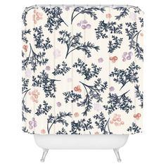 "Khristian A Howell JARDIN in Lilac Shower Curtain by DENY Designs (71""x74"") : Target"