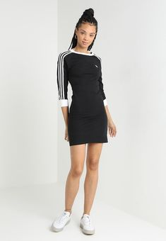Zalando Source by laleortak Sporty Outfits, Teen Fashion Outfits, Dope Outfits, Swag Outfits, Outfits For Teens, Fashion Dresses, Adidas Dress, Adidas Outfit, Mode Streetwear