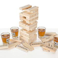 Drunken Tower Drinking Game, Blue