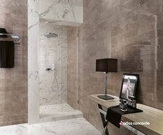 whitepaste wall tiles with marble effect brick atelier brick atelier collection by atlas concorde