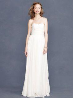 J Crew Arabelle Gown - $575 Size 1 Wedding Dress – OnceWed.com