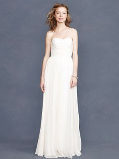 J Crew Arabelle Gown - $575 Size 1 Wedding Dress – OnceWed.com