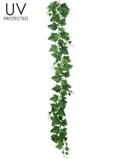 UV Protected Artificial Grape Leaf Garland in Green 5' Long                                                                                                                                                                                 もっと見る