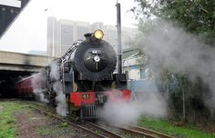 """Steam train ride on """"Katie"""" from Cape Town to Simonstown & back Steam Train Rides, Cape Town, Vehicles, Cars, Vehicle, Tools"""