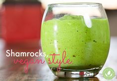 Vegan Shamrock Shake Recipe! - http://www.mommygreenest.com/how-to-make-a-vegan-shamrock-shake/