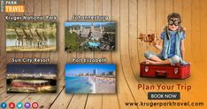 Plan your trip to South Africa. Don't Worry, Kruger Park #Travel provides Kruger National Park Tour and #Safari packages to suit our clients budget and requirements. Book Now On https://www.krugerparktravel.com