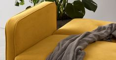 Chou Schlafsofa, Buttergelb | MADE.com Sofa Bed, Butter, Yellow, Sofas, Surfing, Decor, House, Sleeper Couch, Couches