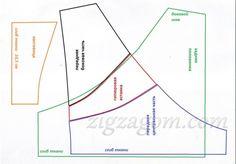 Выкройка трусиков 44-46 размера