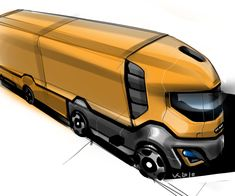amazing funny interesting pictures photos images videos things facts fashion: Concept truck designs by Slava Kazarinov