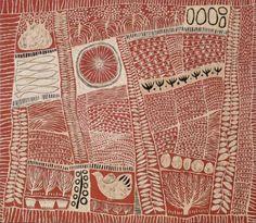 The Homeland, 2008, Marina Strocchi acrylic on linen http://www.michaelreid.com.au/artists-view?aid=25