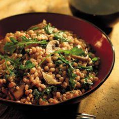 Wild Mushroom and Barley Risotto