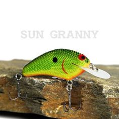 Custom Balsa Crankbait Lowen/'s Dollar Bill PH Custom Lures Sun Granny