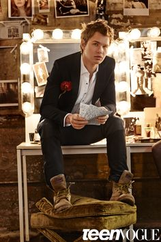 We Went Out with 'Insurgent' Star Ansel Elgort