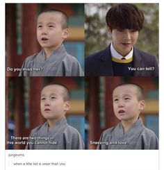 When a little kid is wiser than you