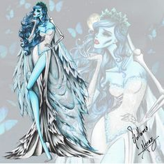 Corpse bride Tim Burton collection by Guillermo meraz