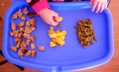 Finger food meal plan. Great for toddlers!