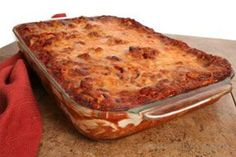 Overnight Turkey Lasagna - Wheat and Gluten Free Recipe    Substitute thinly slice zucchini in place of noodles.