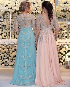 2018 Sexy Mother Of The Bride Dresses Jewel Neck Long Sleeves Silver Beaded Lace Appliques Beaded Chiffon Plus Size Party Dress Evening Gown Plus Size Party Dresses, Evening Dresses Plus Size, Chiffon Evening Dresses, Evening Gowns, Halter Dresses, Prom Dresses, Linen Dresses, Beach Dresses, Fall Dresses