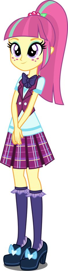 EqG Sour Sweet by xebck on DeviantArt