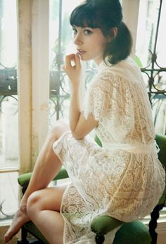 Lace = yes! No not like the frills on around neckline and sleeves Yin Natural Inspiration