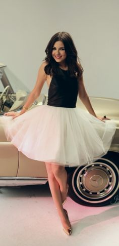 Victoria Justice in this cute ballerina skirt #stealtheirstyle #victoriajustice #stealtheirstyle