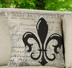 Homemade throw pillows!