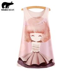 New Fashion Tank Tops Summer tees Women Dress girl Print Sleeveless T shirt Casual Women Clothing Like it? http://www.lady-fashion.net/product/waibo-bear-2016-new-fashion-tank-tops-summer-tees-women-dress-girl-print-sleeveless-t-shirt-casual-women-clothing/ #shop #beauty #Woman's fashion #Products