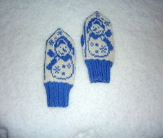 Knitting For Kids, Knitting Projects, Baby Knitting, Crochet Baby, Knit Crochet, Knitted Mittens Pattern, Knit Mittens, Mitten Gloves, Baby Mittens