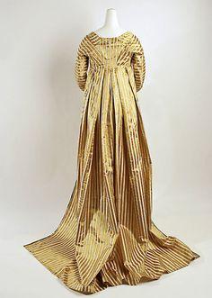 Dress Date: ca. 1797 Culture: British Medium: silk