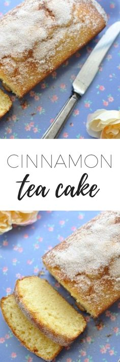 If you're looking for a recipe for cinnamon tea cake look no further. This is one of the simplest and most delicious tea cakes you'll ever make. Köstliche Desserts, Delicious Desserts, Dessert Recipes, Homemade Tea, Homemade Cakes, Chocolate Tea Cake, Healthy Chocolate, Tea Cake Cookies, Cupcakes