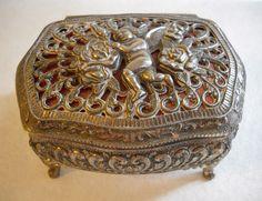 CTW White Bird Trinket Jewelry Box