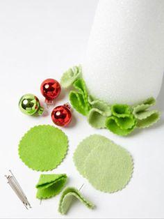 Homemade for the Holidays: Easy Felt Crafts