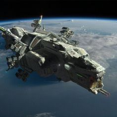 """From the original Sci Fi universe of my novel """"The Way to Eden"""" A heavy variant of the Scirocco Class Strike Frigate. Spaceship Interior, Spaceship Art, Spaceship Design, Concept Ships, Concept Art, Sience Fiction, Starship Concept, Sci Fi Spaceships, Sci Fi Ships"""