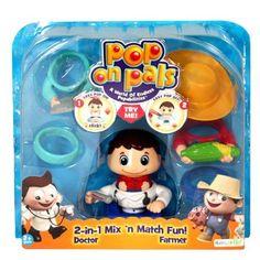 Pop On Pals - Figure Farmer / Doctor