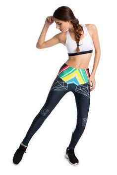 Legging Legx modelo Diamante by www.legx.es Fabricado en España con lycra original