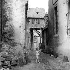 Robert Doisneau - Le vieux Mans (Sarthe)
