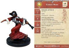 Combat Medic #05 War Drums D&D Miniatures DDM