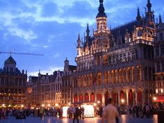 Grand Place, Brussels, Belgium - said to be one of the most beautiful squares in Europe
