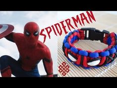 How to Make the Ultimate Spiderman Cobra Knot Paracord Bracelet Tutorial - YouTube