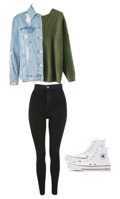 """Fall outfit"" by madisenharris on Polyvore featuring Topshop and Converse"