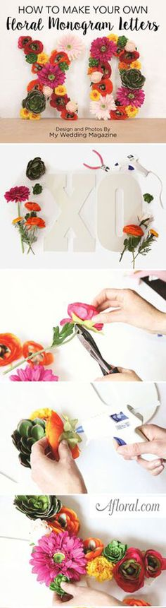 Create floral arrang