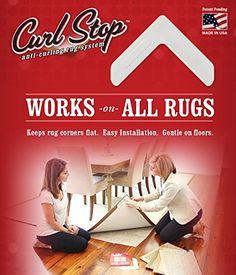 Curl Stop Anti-Curling Rug System (Pack of 4 Corners) Cur... http://www.amazon.com/dp/B005BYNCZK/ref=cm_sw_r_pi_dp_Jm8ixb00K6KTC