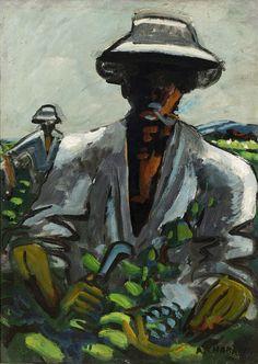 Le vendangeur. - CHABAUD, Auguste (1882-1955)