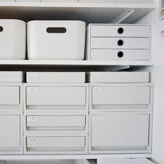 Muji Storage, Muji Home, Study Space, Kitchen Organization, Interior Architecture, Dresser, Room, Closet, House